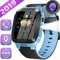 Kids Smartwatch Best Gps Tracker 3-12 Year Old Boys Girls Child Phone Watch With Digital Camera Touchscreen Sos Games Children's