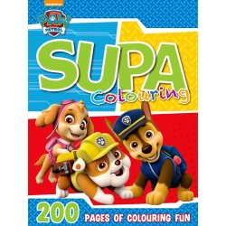 Paw Patrol 200 Page Supa Colouring & Activity Book