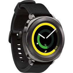 Renewed Samsung Gear Sport Smartwatch in Black