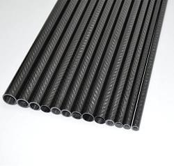 USA Abester Id 3MM X Od 5MM X 500MM Glossy Surface 3K Carbon Fiber Tube 1 Piece