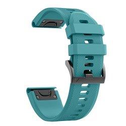 MSLH Notocity Garmin Fenix 5X Band 26MM Width Soft Silicone Watch Strap For Garmin Fenix 5X FENIX 3 FENIX 3 Hr