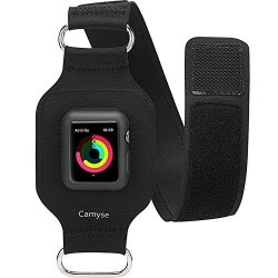 Gamemyse For Apple Watch Armband 42MM Camyse Adjustable Reflective Bands For Running Workouts Or Any Fitness Activity Sport Exercise Arm Band For Apple Watch Series