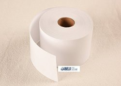 DL-30270 Dymo Compatible Labelwriter 4XL Twin Turbo 450 Non-adhesive Receipt Paper Label Price Tag 30270 White Thermal 5 Rolls