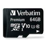 Verbatim 64GB Micro SDXC Plus Adaptor