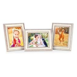 Photolini Set Of 3 Picture Frames With Dimensions Of 8 X 10 Inch In