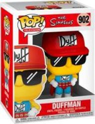 Pop Television: The Simpsons - Duffman Vinyl Figure