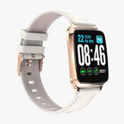 M8 1.3 Inch Ips Color Screen Smart Bracelet IP67 Waterproof Support Step Counting Call Reminder Heart Rate Monitoring Sleep Monitoring Gold