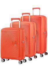 American Tourister Soundbox 3 Piece Set Spicy Peach