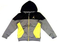 Nike Air Jordan Boys Therma-fit Athletic Jacket - Medium 10-12 Yrs