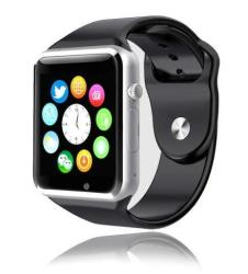 Style Asia Touch Screen Bluetooth Enabled Smart Watch Camera Music Fitness Tracker And Pedometer Black Matte Finish Compatible To All Android And