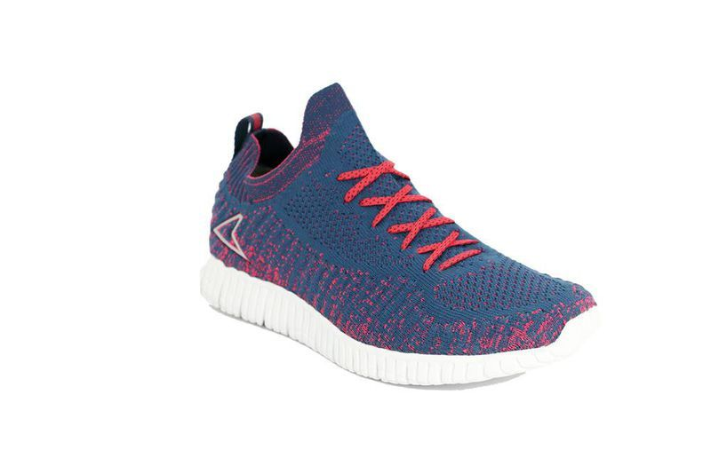 Power Ladies Running Shoes in Navy & Pink