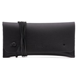 Saddleback Leather Sunglass And Pen Pencil Case - 100% Full Grain Leather Bag 100 Year Warranty