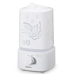Signstek 1500ML 1.5L Ultrasonic Air Humidifier LED Color Changing Aroma Oil Diffuser Dragonfly