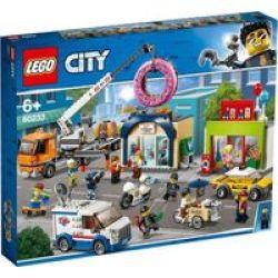 Lego City Donut Shop Opening