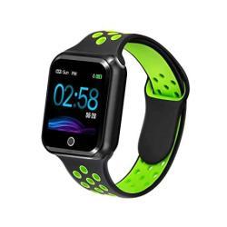 USA Wafa Fitness Tracker With Heart Rate Blood Pressure Monitor Waterproof Fitness Watch Bluetooth Smart Watch With Sleep Sports Data Monitor Gps Activi