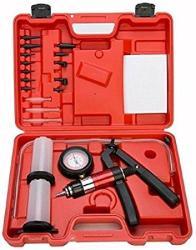 Car Hand Held Vacuum Pressure Pump Tester Set Brake Fluid Bleeder Bleeding Kit