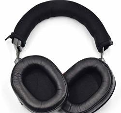 Quality Upgrade Ath MSR7 Msr 7 Bt Nc Genuine Leather Ear Pads Headphone Protector Headband Fabric Replacement For Audio-technica