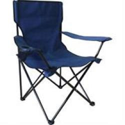 Totally Camping Chair Blue Retail Box Out Of Box Failure Warranty.specifications:• Colour S : Blue• Material: 600D• Size: 45 W