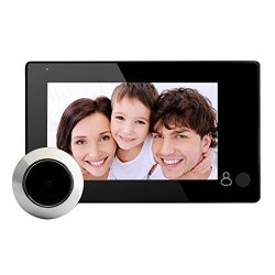 4.3INCH Lcd Digital Video Door Viewer Peephole With 145 Degree One Button