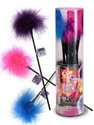 NMC Rainbow Feather Ticklers 12