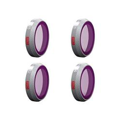 Pgytech Mavic 2 Zoom Filter Nd Lens Filter Compatible With Dji Mavic 2 Zoom ND8 ND16 ND32 ND64 4-PACK Filters Set Professional For Drones Accessorie
