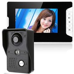 Gamwater 7 Inch Video Door Phone Doorbell Intercom Kit 1-CAMERA 1-MON
