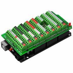 Electronics-Salon Screw Terminal Block Breakout Module For Arduino MEGA-2560 R3.