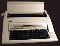 Nakajima WPT160 Portable Electronic Typewriter With Display + Memory.
