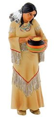 C & J Direct GmbH & Co. KG Bullyland Indian Woman Action Figure