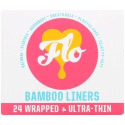 Flo Bamboo Pantyliners 24 Pantyliners
