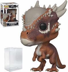 Funko Pop Movies: Jurassic World Fallen Kingdom - Stygimoloch Vinyl Figure Bundled With Pop Box Protector Case