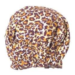 Bath Accessories Bouffant Shower Cap Leopard Print