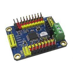 Adam Syex 16 Steering Servo Control Board Dc Stepper Motor Serial Port Bluetooth Wireless Iic PC Module Wireless