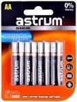 Astrum AAB006 Alkaline Aa LR6 Battery 4PC Pack