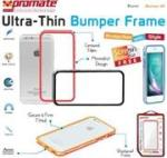 Promate Bump-i6 Ultra-Thin Bumper Case for Apple iPhone 6 in Blue