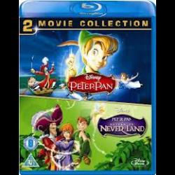 Peter Pan 1 & 2 Box Set Blu-ray