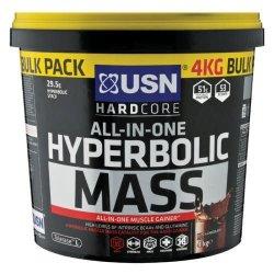 USN 4kg Hyperbolic Mass Dutch Chocolate Flavour