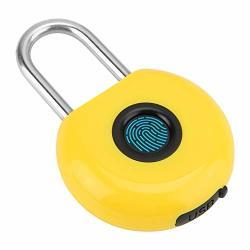 Tangxi Biometric Fingerprint Padlock IP65 Waterproof Anti-theft Home Security Smart Keyless Padlock For House Door Suitcase Backpack Gym Bike Office