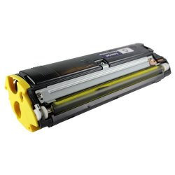QMS Konica Minolta 1710517-006 Yellow Toner Cartridge 2300DL Printer