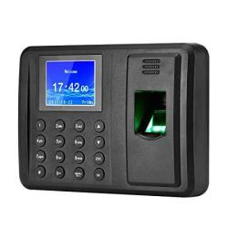 Antner Fingerprint Time Attendance Clock Output Attendance Report Directly USB Flash Disk Download Employee Payroll Recorder Bla