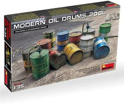 USA Scale Plastic Model Kit - Military Miniatures - Modern Oil Drums 200L - 1 35 Diorama Accessories - Plastic Model Kits To Build For Adults - Accessorie
