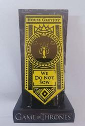 Culturefly Game Of Thrones House Greyjoy Oversized Triple Back Enamel Pin Exclusive