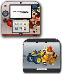 Vinyl Skin Designs Mario Kart 7 8 3D Bowser Donkey Kong Video Game Vinyl  Decal Skin Sticker Cover For Nintendo 2DS System Consol | R | Other  Adapters