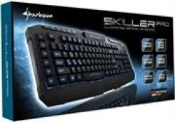 Sharkoon Skiller Pro Illuminated Customisable Gaming Keyboard