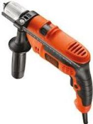 Black & Decker 550W Keyless Spindle Lock Hammer Drill