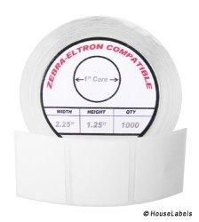 "HouseLabels Zebra eltron-compatible 2.25 X 1.25 Labels 2-1 4"" X 1-1 4"" -- Bpa Free 6 Rolls 1 000 Labels Per Roll"