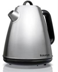 Taurus Stainless Steel Kettle - 958200 - 2200W - 1.7L Capacity 360° Cordless Kettle Concealed Heating Element Boil Dry Protectio