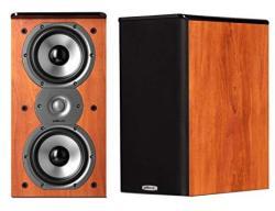Polk Audio Tsi200 Bookshelf Speakers Pair Cherry Reviews Online