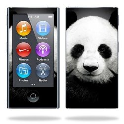 MightySkins Protective Skin Decal Cover For Apple Ipod Nano 7G 7TH Generation MP3 Player Wrap Sticker Skins Panda
