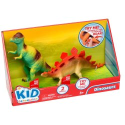 ADVENTURE 2 Pce Dino With Sounds Play Set